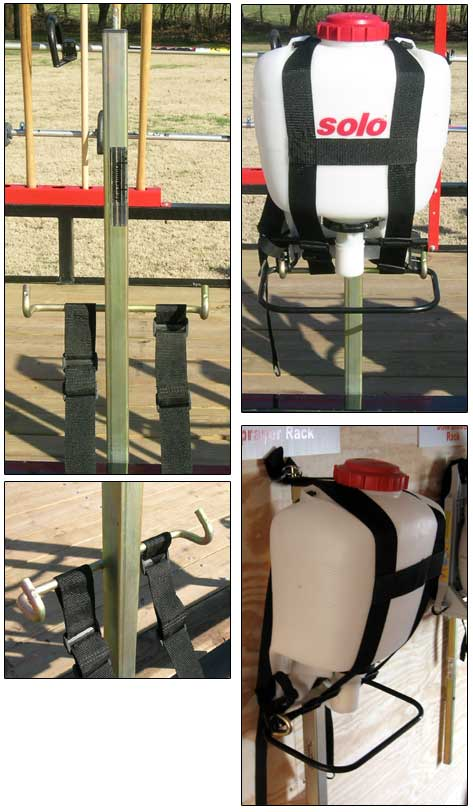 SR-1  Backpack Sprayer Rack