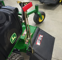 Blade Blocker - John Deere 648R Stand-On