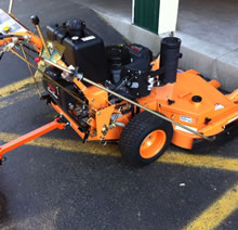 "Blade Blocer Walk Behind - Scag 52"" Walk Behind Mower"