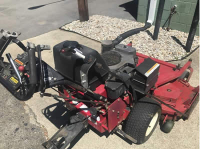 Blade Blocker - ExMark Turf Tracer Mower