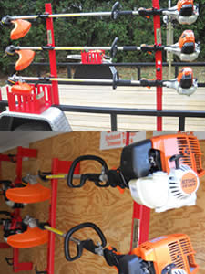 ST-5 Blower Rack for the Stihl BR-800X and BR-800C-E